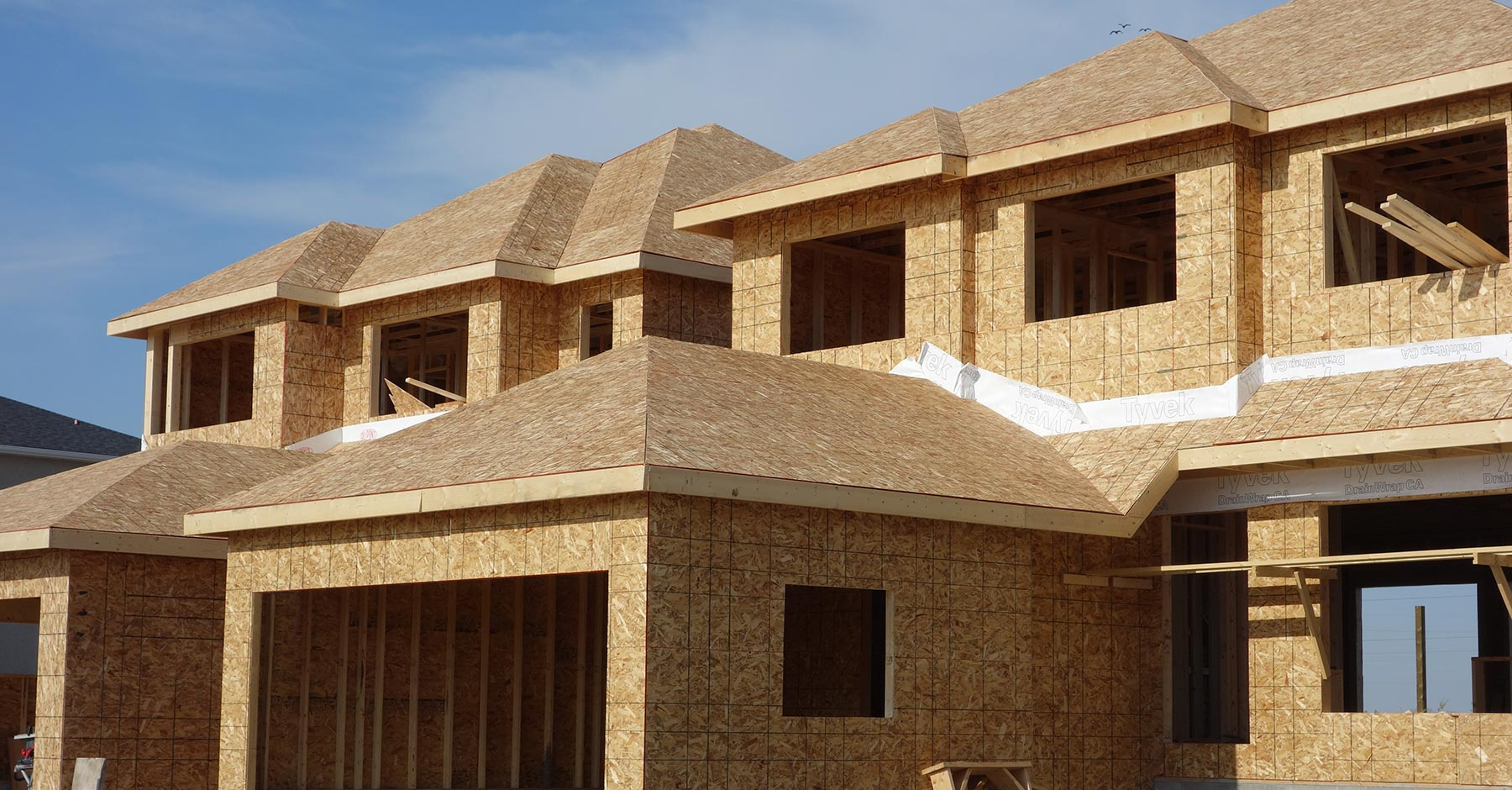Sage Creek - Homes under construction