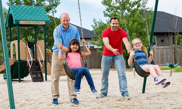 Sage Creek Lifestyles - Playground with Dads