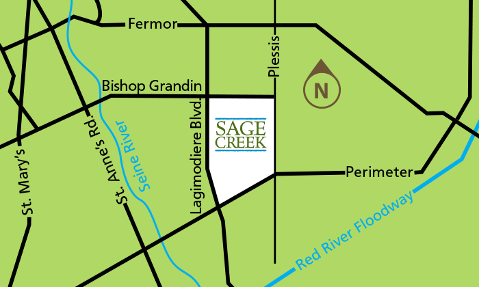 Sage Creek Location map