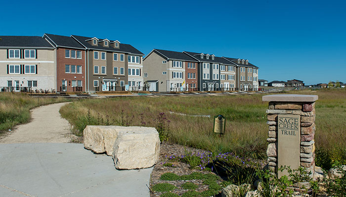 Condominiums on Trails