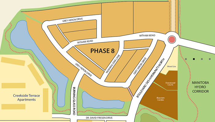 Sage Creek Phase 8 map